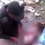 vídeo: venezolano descuartiza a un perro en plena calle para comérselo.