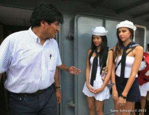 Diputado llama delincuente y pedófilo al presidente Evo Morales