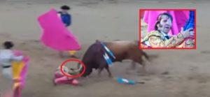 Toro arranca cuero cabelludo a famoso torero (Video)