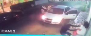 Cámara de seguridad capta el momento del secuestro a la joven estudiante de medicina (Video)