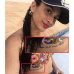 Trágico tatuaje, la dejó en silla de ruedas y perdió su bebé