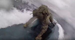 Video: Persecución en el mar, detienen a narcosubmarino
