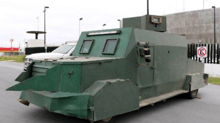 Imágenes de los vehículos usados por el Cártel del Golfo